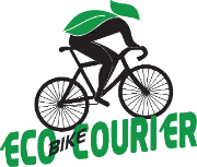 ECO BIKE COURIER LOGO clear site
