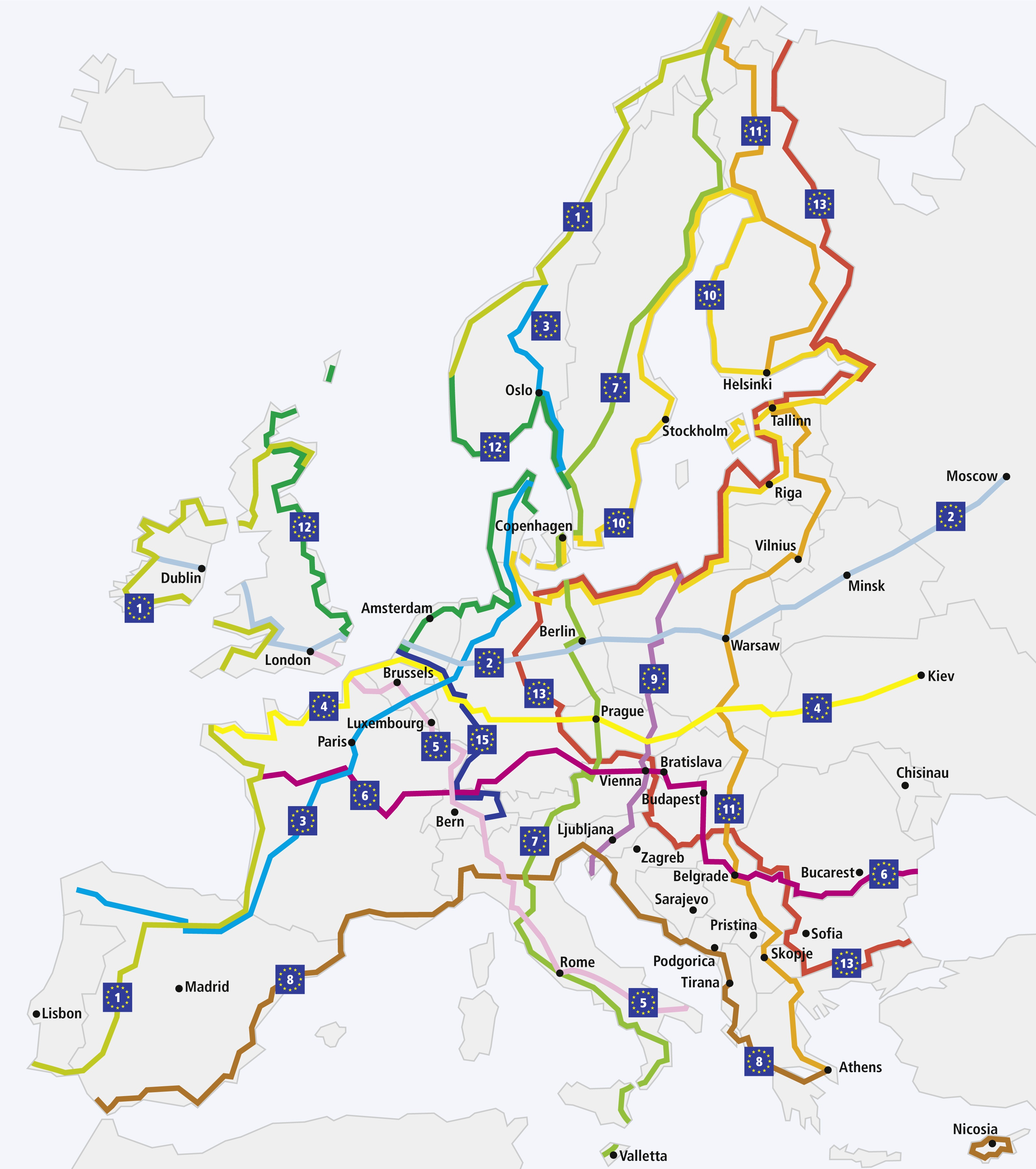 EuroVelo_Karte_Original1