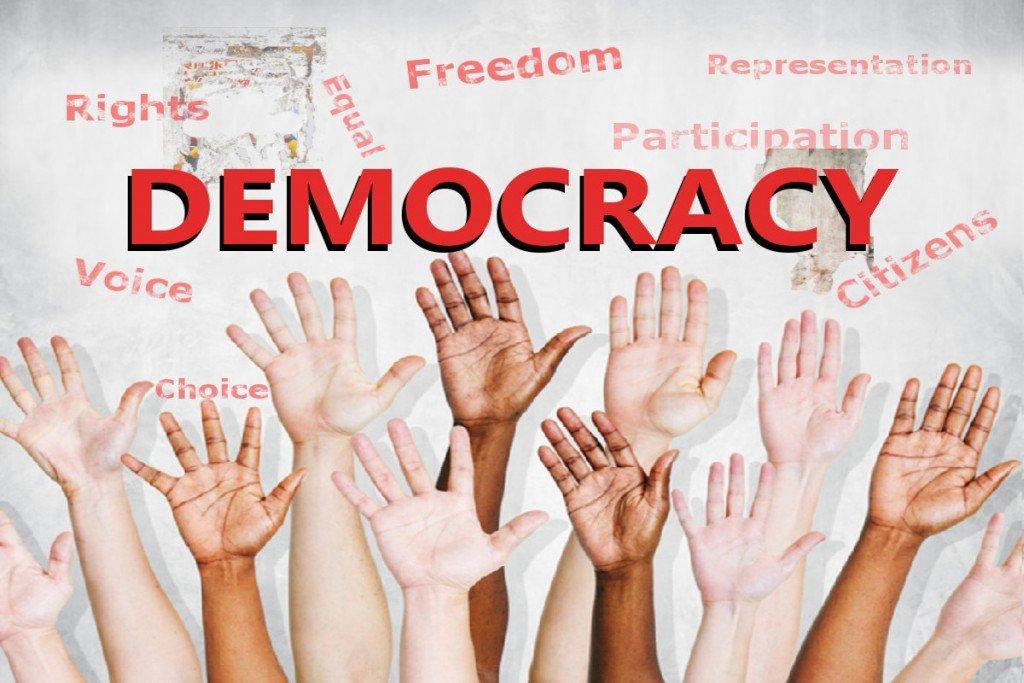 Η δημοκρατία δεν είναι αυτονόητη, πρέπει να την διεκδικούμε καθημερινά