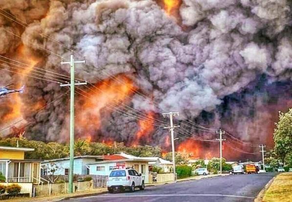 Αυστραλία: μια τεράστια καταστροφή από το κλιματικό μέλλον μας